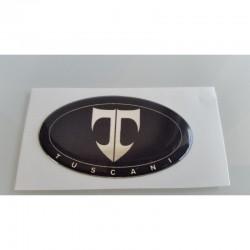 Emblème noir Tuscani volant