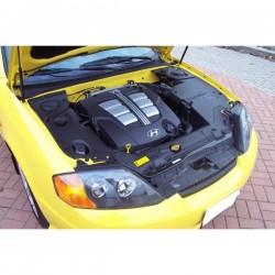 Cache-moteur plastique V6